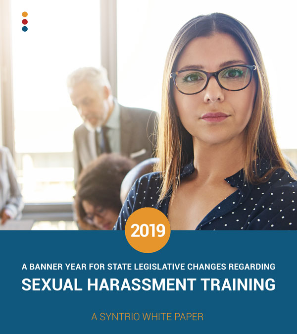 A Banner Year For State Legislation Regarding Sexual Harassment Training