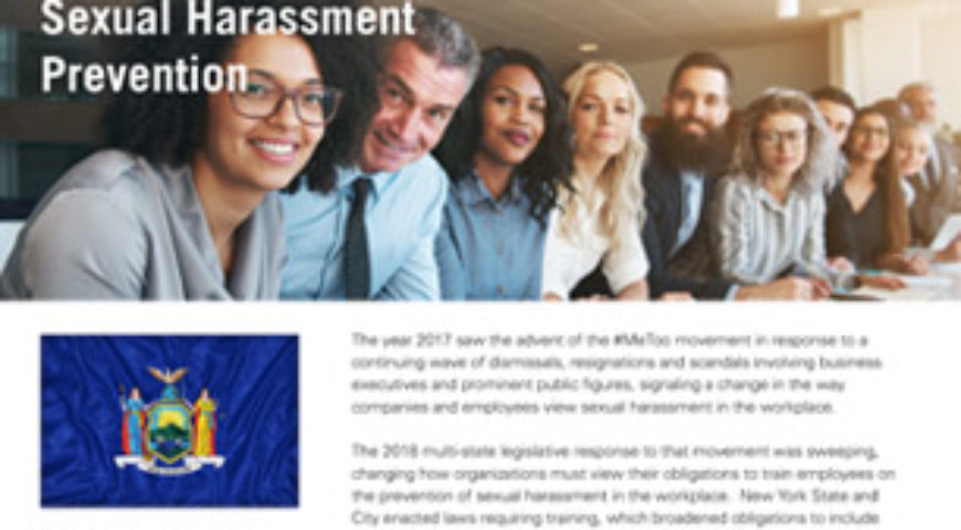 New York Sexual Harassment Prevention