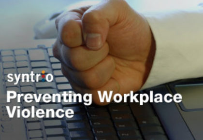 Five Ways to Prevent Workplace Violence