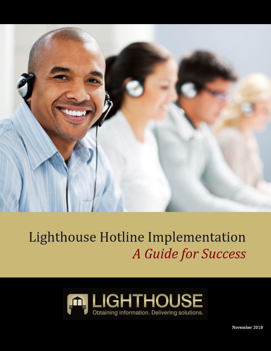 Reporting Hotline Implementation Guide