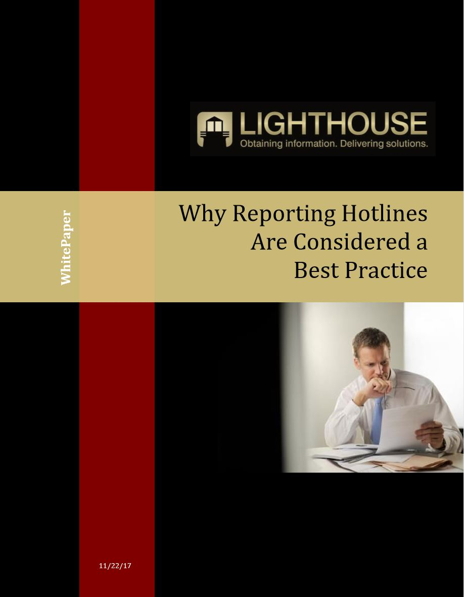 Why Reporting Hotlines Are Considered a Best Practice