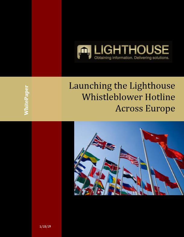 Launching the Lighthouse Whistleblower Hotline Across Europe