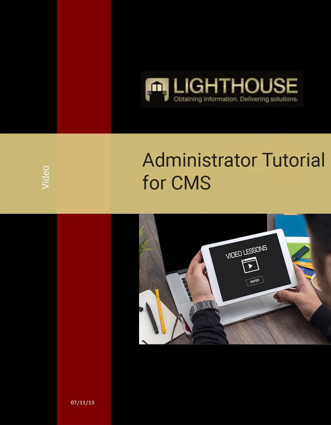 Administrator Tutorial Video for CMS