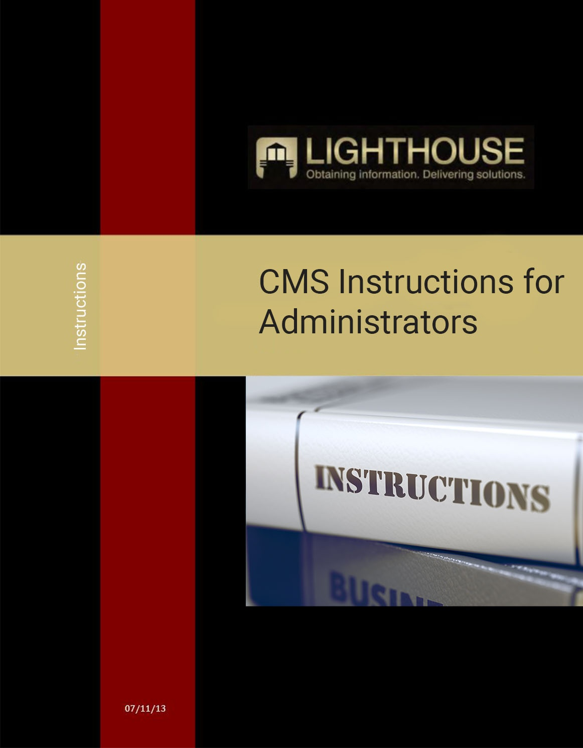 CMS Instructions for Administrators