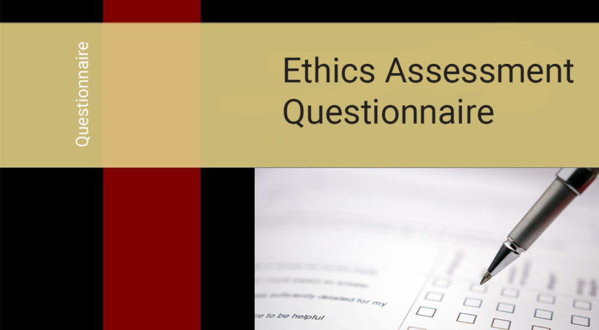 Ethics Assessment Questionnaire