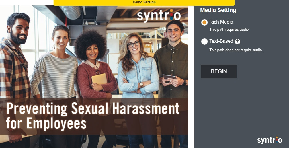 Live Demo: Preventing Sexual Harassment for Employees