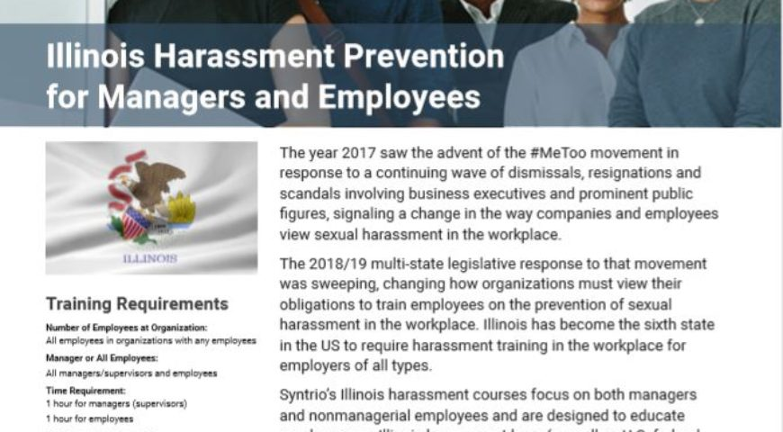 Illinois Harassment Prevention