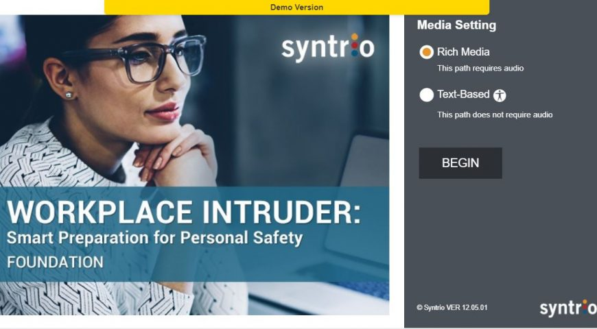 Course Demo Sample: Workplace Intruder Live