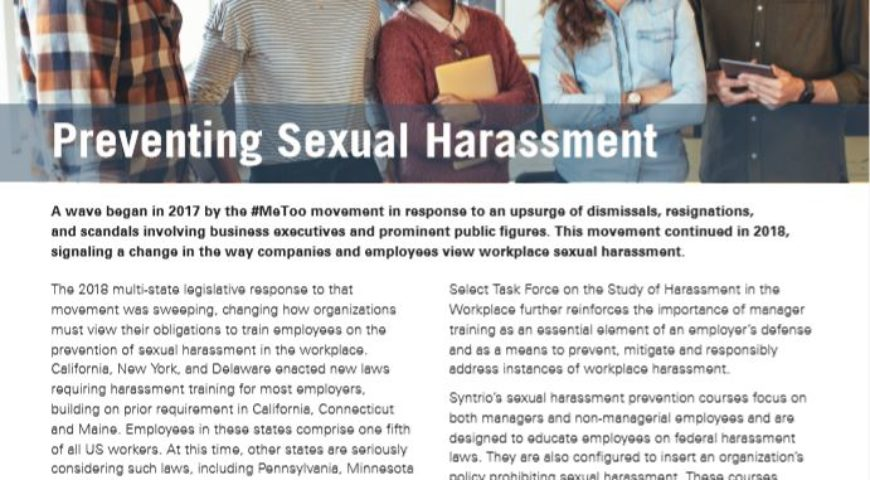 Preventing Sexual Harassment (Multi-State)