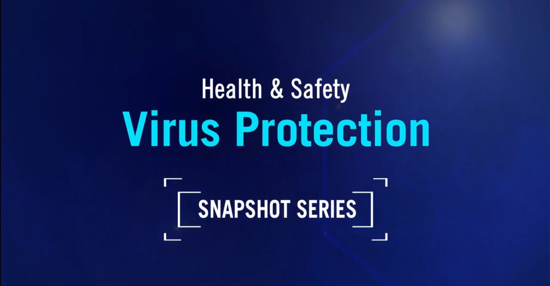 Free Virus Prevention Training Video