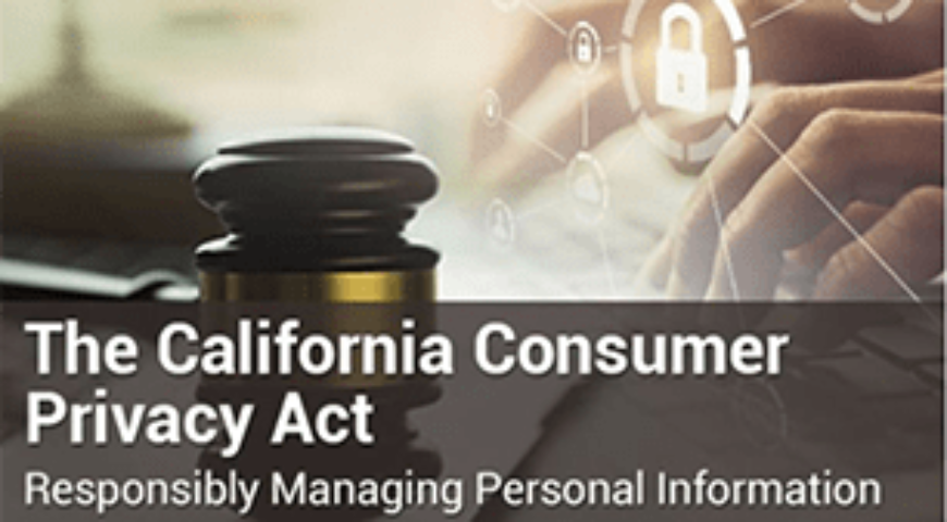 Demo: California Consumer Privacy Act