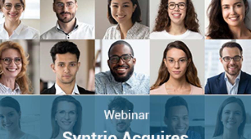 Webinar: Syntrio Acquires Diversity & Inclusion Powerhouse KnowledgeStart